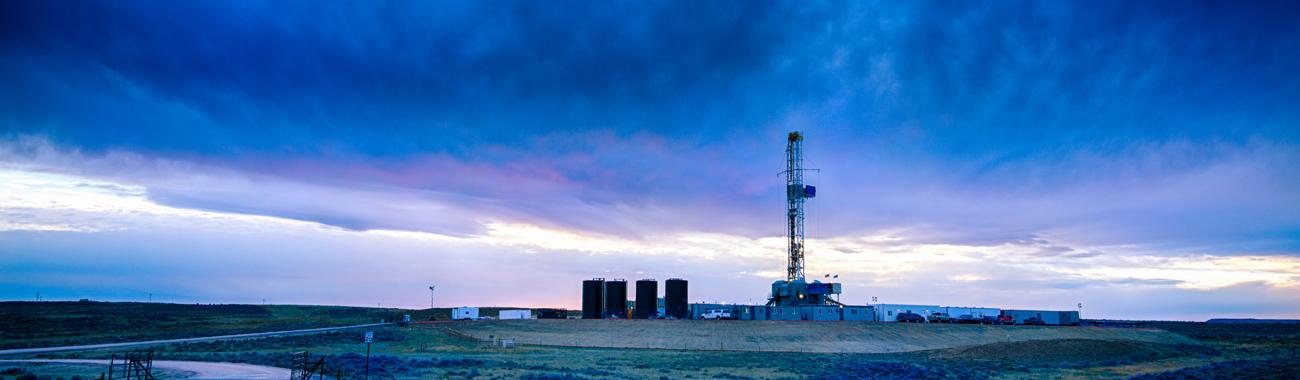 Fracking rig.full