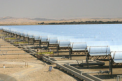 Desert solar power
