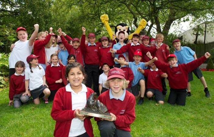South/ Central Regional Champion - 2012 - Turners Hill CE Primary School