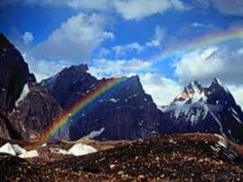 Rainbow himalayas