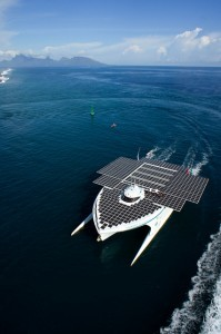 The MS Tûranor Planetsolar (photo by Pierre Lesage)