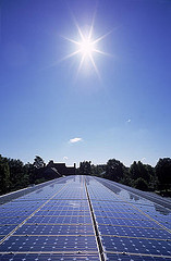 solar panel © Living off the Grid CC by 2.0