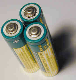 three Batteries