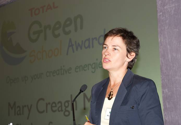 Our keynote speaker, Shadow Environment Secretary Mary Creagh