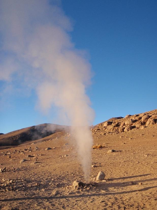 Geothermal - Bolivia © Emma Brice