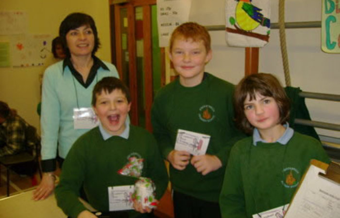Scotland Regional Champion - 2010 - Knockbreck Primary School